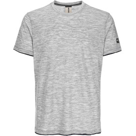 super.natural City t-shirt Heren grijs/zwart